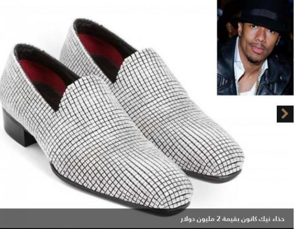 صور: تجاوزت إحداها مليوني دولار.. أغلى أحذية مشاهير العالم