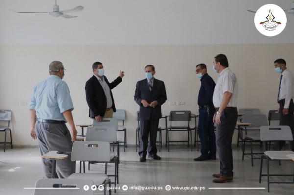 جامعة غزة تستأنف المحاضرات العملية الوجاهية