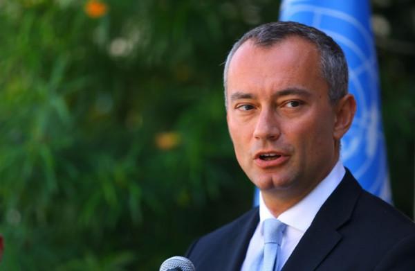ملادينوف: حل الدولتين يجب أن يوضع موضع التنفيذ.. قلقون من تدهور صحة الاسير الاخرس