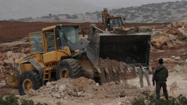 بيان طبيب يدين تجريف سلطات الاحتلال أرض مخصصة لإقامة حديقة لذوي الإعاقة بسلفيت