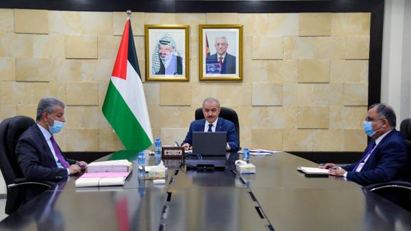 طالع قرارات مجلس الوزراء الفلسطيني
