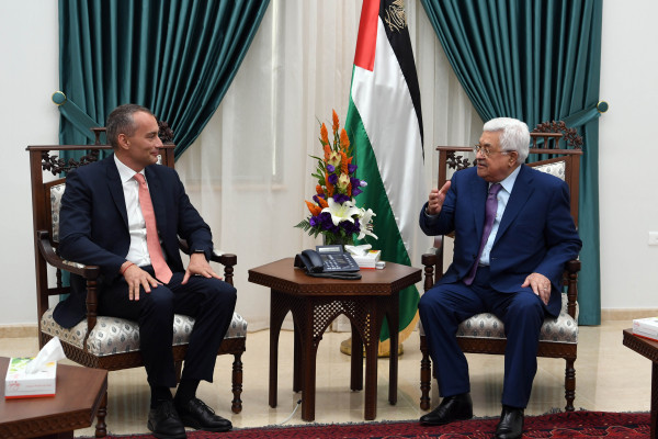 ملادينوف للسلطة الفلسطينية: عليكم استئناف التنسيق مع إسرائيل والقبول بأموال المقاصة