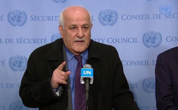منصور: مبادرة الرئيس عباس تفتح أبوابًا جديدة لعملية السلام وتنهي الاحتلال