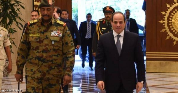 """السيسي والبرهان يؤكدان على """"الاتفاق الملزم"""" حول سد النهضة"""