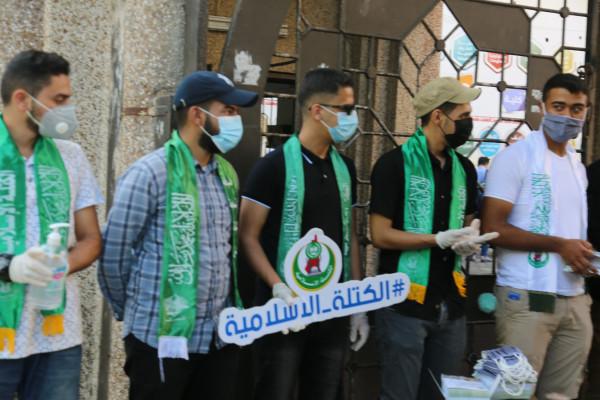 الكتلة الإسلامية تستقبل طلاب المدارس والجامعات