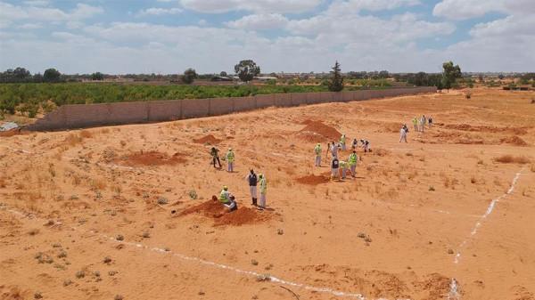 ليبيا: حكومة الوفاق تكتشف أربع مقابر تضم 12 جثة جنوبي طرابلس