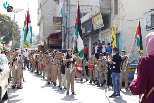 شباب الجلزون يستضيف فعاليات اليوم الوطني الفلسطيني للعمل التطوعي