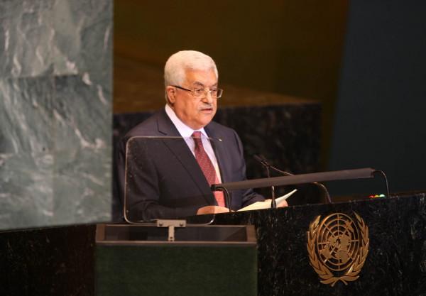 تفاصيل رسالة الرئيس عباس للأمين العام للأمم المتحدة