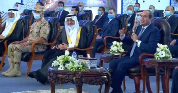 السيسي يفتتح جامعة الملك سلمان في شرم الشيخ