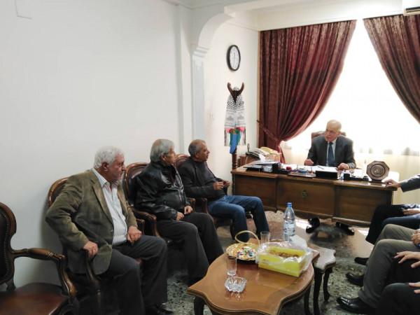 النضال الشعبي تقدم التهنئة لحزب البعث العربي الاشتراكي