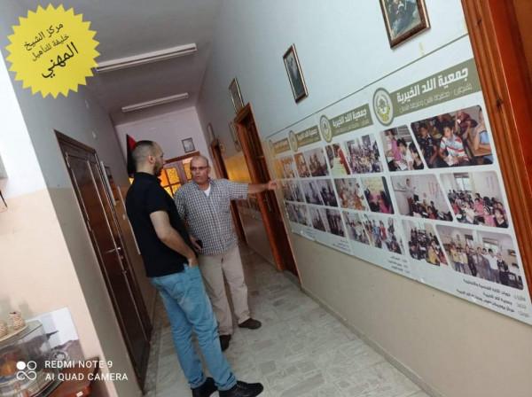 الشيخ خليفة يتابع تدريب طلابه الخريجين من خلال زيارات لأماكن تدريبهم