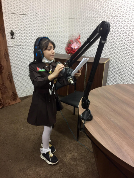 تربية قلقيلية تنظم مهرجانا عبر الإذاعة المدرسية في ذكرى استشهاد أبو عمار