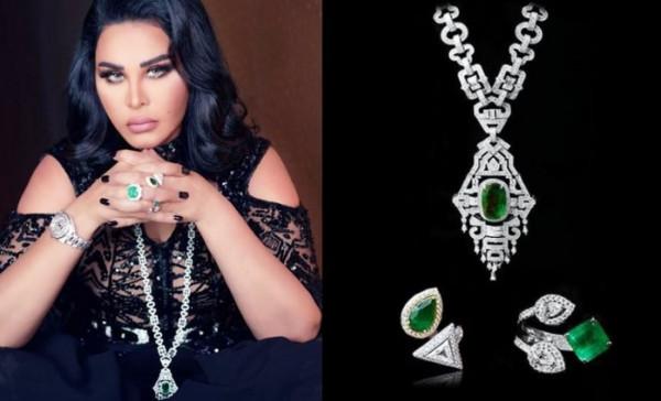 شاهد: أحدث اطلالات الفنانات العربية بمجوهراتهن الباهظة
