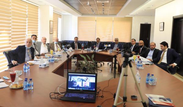 مجلس إدارة الجامعة العربية الأمريكية يعقد اجتماعه الدوري