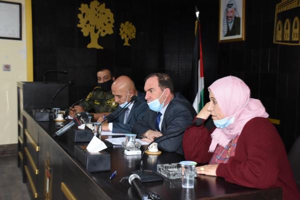 """اطلاق مبادرة """"القرض باسمي والبيت باسمه"""" في محافظة سلفيت"""
