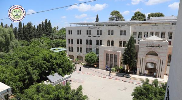 فريق من جامعة فلسطين التقنية خضوري يفوزب برنامج المقدسي للبحث العلمي