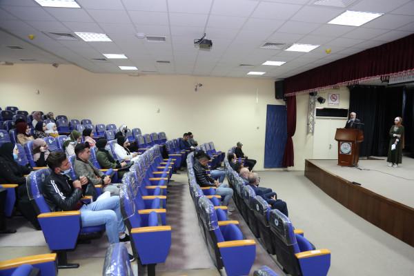 جامعة الخليل تنظم ورشة عمل حول تعزيز ثقافة حقوق الانسان