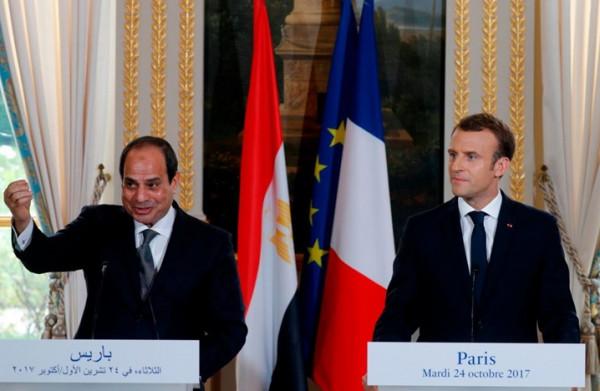 مصر: نرفض تدخل فرنسا في شؤوننا الداخلية