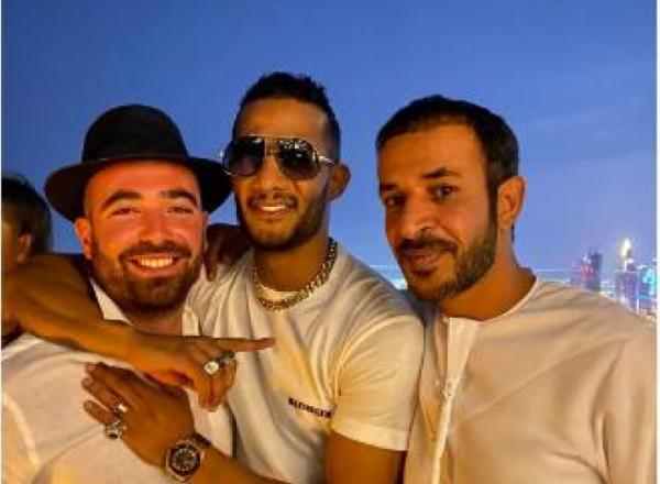شاهد.. محمد رمضان بعد صورته مع المغني الإسرائيلي: فلسطين نمبر وان
