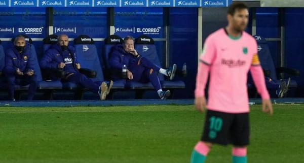 """أول تعليق من """"كومان"""" بعد الخسارة من أتليتكو مدريد.. كيف برر الهزيمة؟"""