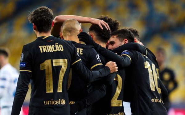 شاهد: برشلونة بدون ميسي يسحق ديناموكييف ويتأهل رسمياً لدور 16 بدوري الأبطال