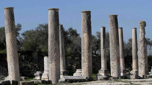 قوات الاحتلال تقتحم الموقع الأثري في سبسطية