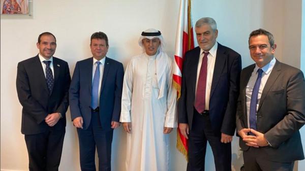 أول وفد تجاري إسرائيلي يصل إلى البحرين