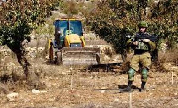 الاحتلال يخطر بهدم دفيئة زراعية شرق قلقيلية