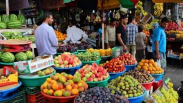 طالع أسعار الخضروات والفواكه والدجاج في أسواق غزة