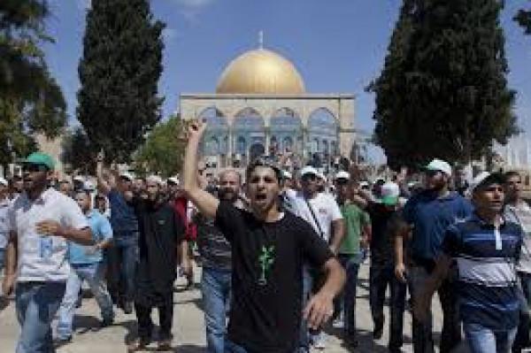 """انطلاق قافلة """"الرباط في الأقصى"""" من الجليل إلى القدس"""