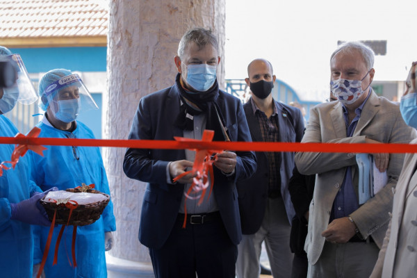(أونروا) تفتتح مركزاً صحياً جديداً في غزة بدعم سعودي