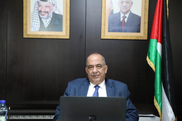 د. الشلالدة يشارك في اجتماع مجلس وزراء العدل العرب