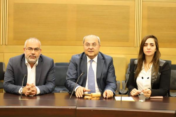 الهيئة العامة للكنيست تصادق بشكل نهائي على ثالث قانون يمرره نواب العربية للتغيير