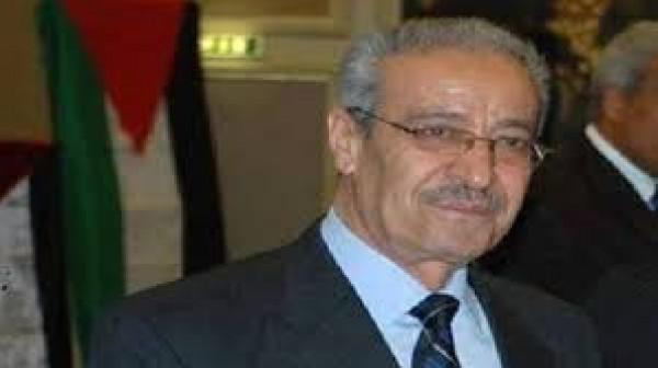 تيسير خالد يدعو في يوم التضامن دول الاتحاد الأوروبي للاعتراف بدولة فلسطين