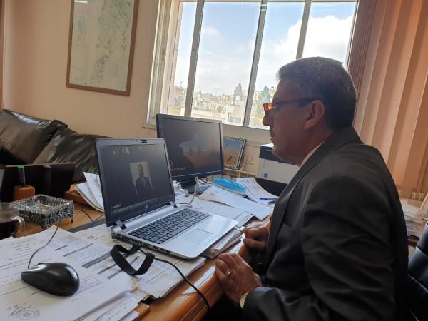 """سلطة جودة البيئة تشارك بافتتاح المؤتمر الدولي الخامس """"تحديات البيئة بالمنطقة العربية"""""""