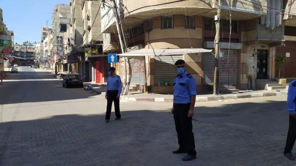 خلال 48 ساعة.. الشرطة بغزة تُحرر 464 مخالفة بحق متجاوزي إجراءات السلامة وحظر التجول