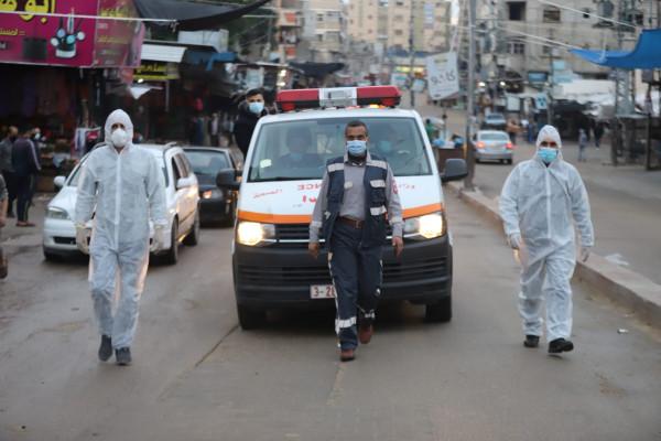 شاهد.. الصحة بغزة: سيارات الإسعاف تجوب شوارع المحافظات لحث المواطنين على الالتزام