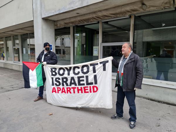 انطلاق حملة مقاطعة بضائع الاحتلال في الدنمارك