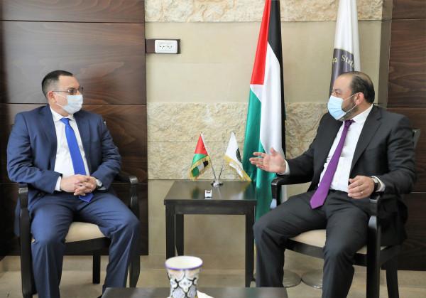النائب العام يبحث التعاون المشترك مع سفير نيكاراغوا لدى فلسطين