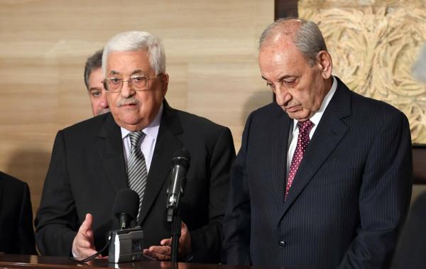 معزياً بوفاة عقل.. الرئيس عباس يتلقى اتصالاً من رئيس مجلس النواب اللبناني