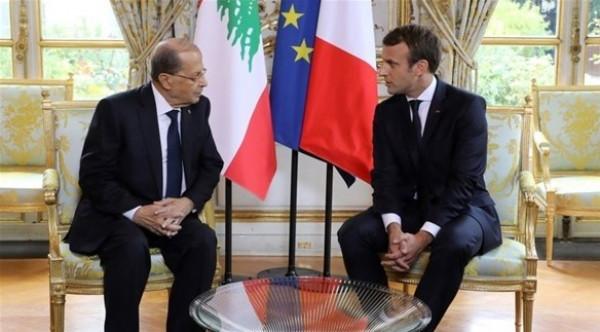 الرئيس الفرنسي يحذر لبنان من إمكانية عدم الحصول على مساعدات دولية