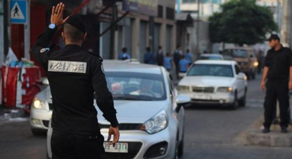 شرطة المرور بغزة تُصدر تنويهاً بشأن إغلاق بعض المفترقات