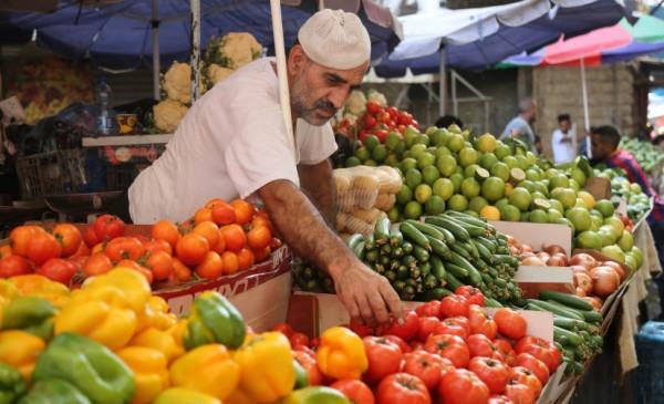 أسعار الخضراوات والفواكه والدجاج في أسواق غزة