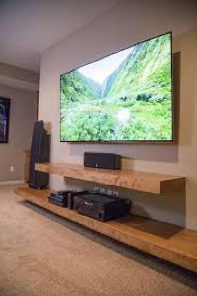 أفكار لتنسيق التلفاز داخل غرفة الجلوس