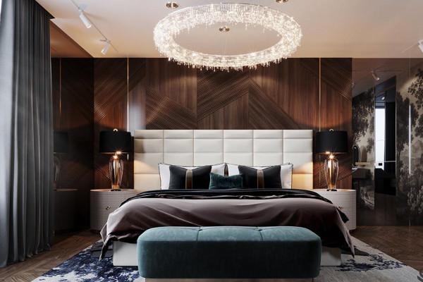 تصاميم غرف نوم مبتكرة للعرسان الجدد