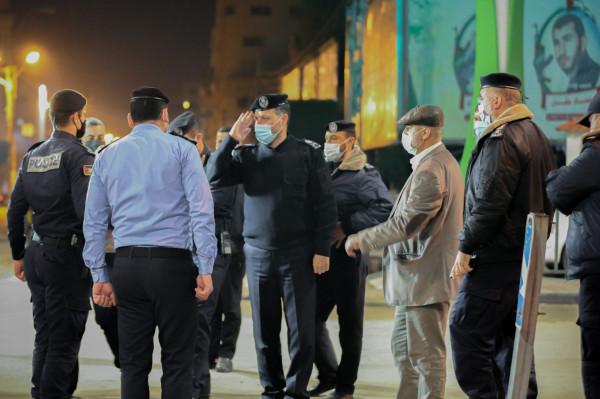 """""""الشرطة"""" بغزة: من يخالف إجراءات حظر التجول الصادرة عن الجهات الحكومية يُعرض نفسه للمساءلة"""