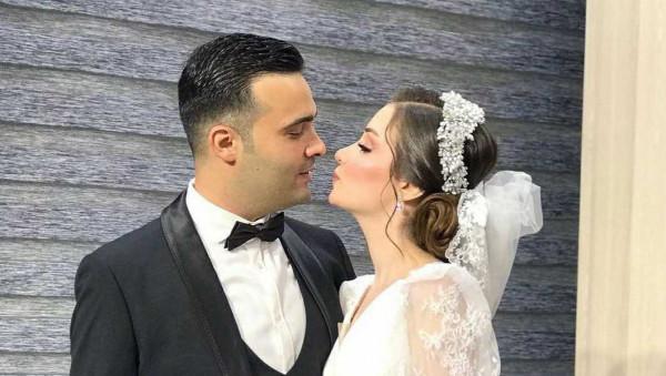 شاهد: الظهور الأول لزفاف ملكة جمال العراق (فيان سليمان)
