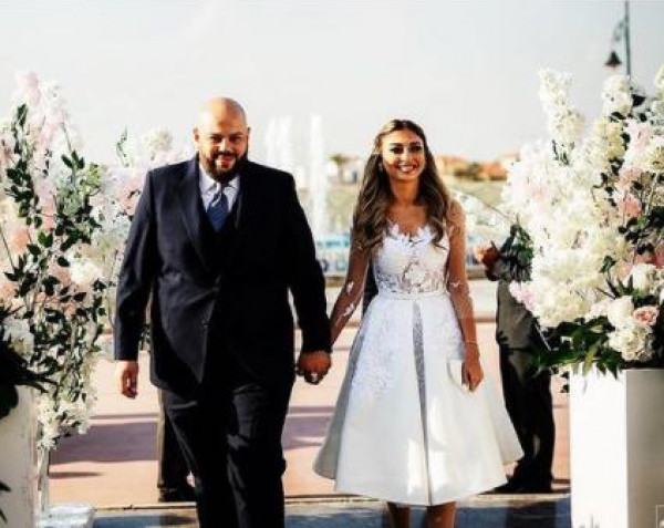 شاهد: صور جديدة من حفل زفاف ميار الغيطي بإطلالتها الساحرة