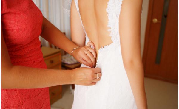 الملابس الداخلية المناسبة أسفل فساتين الزفاف