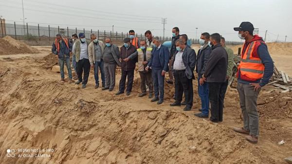 """شاهد: """"سلطة الأراضي"""" بغزة تخصص 55 دونماً لصالح توسعة معبر رفح التجاري"""